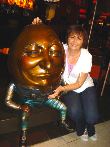 Me with my friend, Humpty Dumpty!
